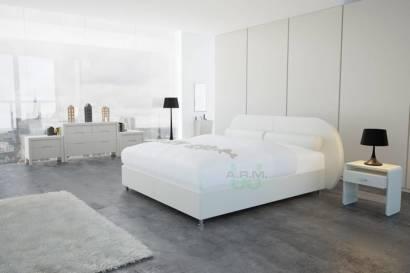 łóżka tapicerowane do sypialni MOOVE