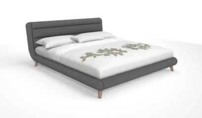 Łóżko tapicerowane RETRO